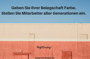 Generationenmanagement Belegschaft Unternehmen