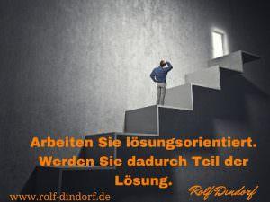 öffentlicher Dienst Lösungsorientierung Dindorf